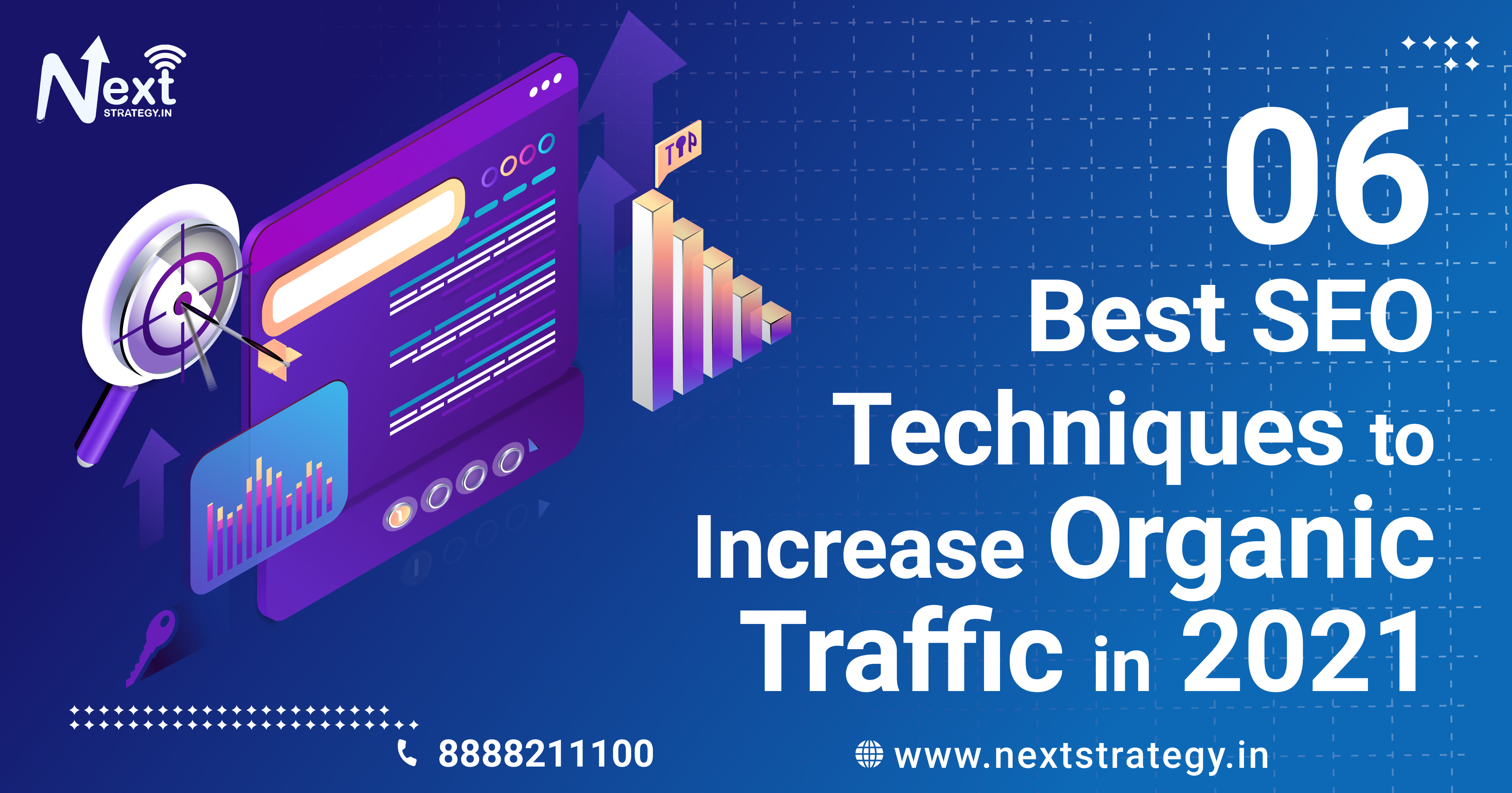 6-Best-SEO-Technique-to-increase-organic-traffic-in-2021 - Nextstartegy.in