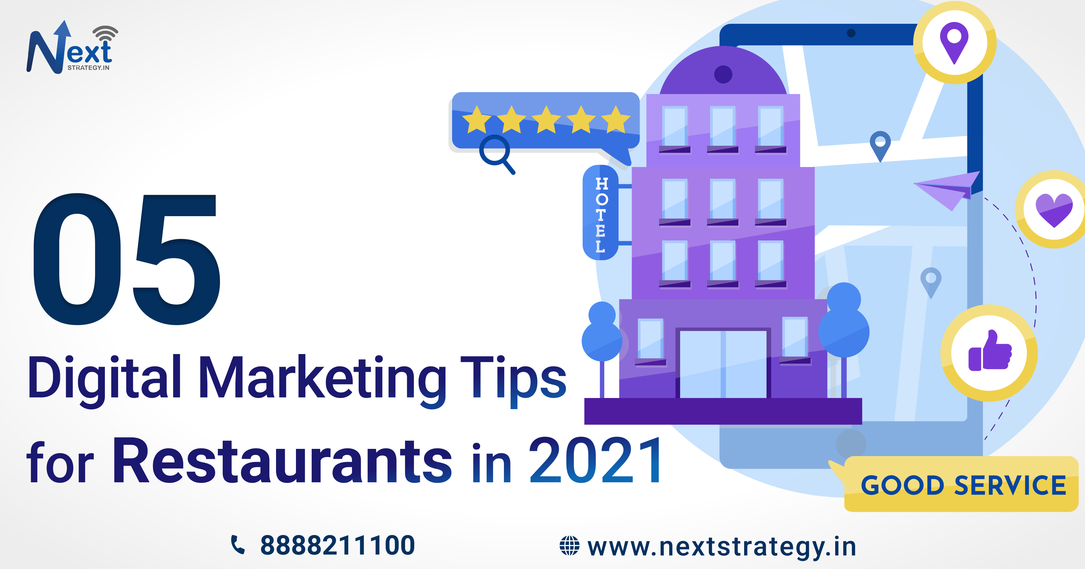 Digital Marketing Tips for restaurants in 2021