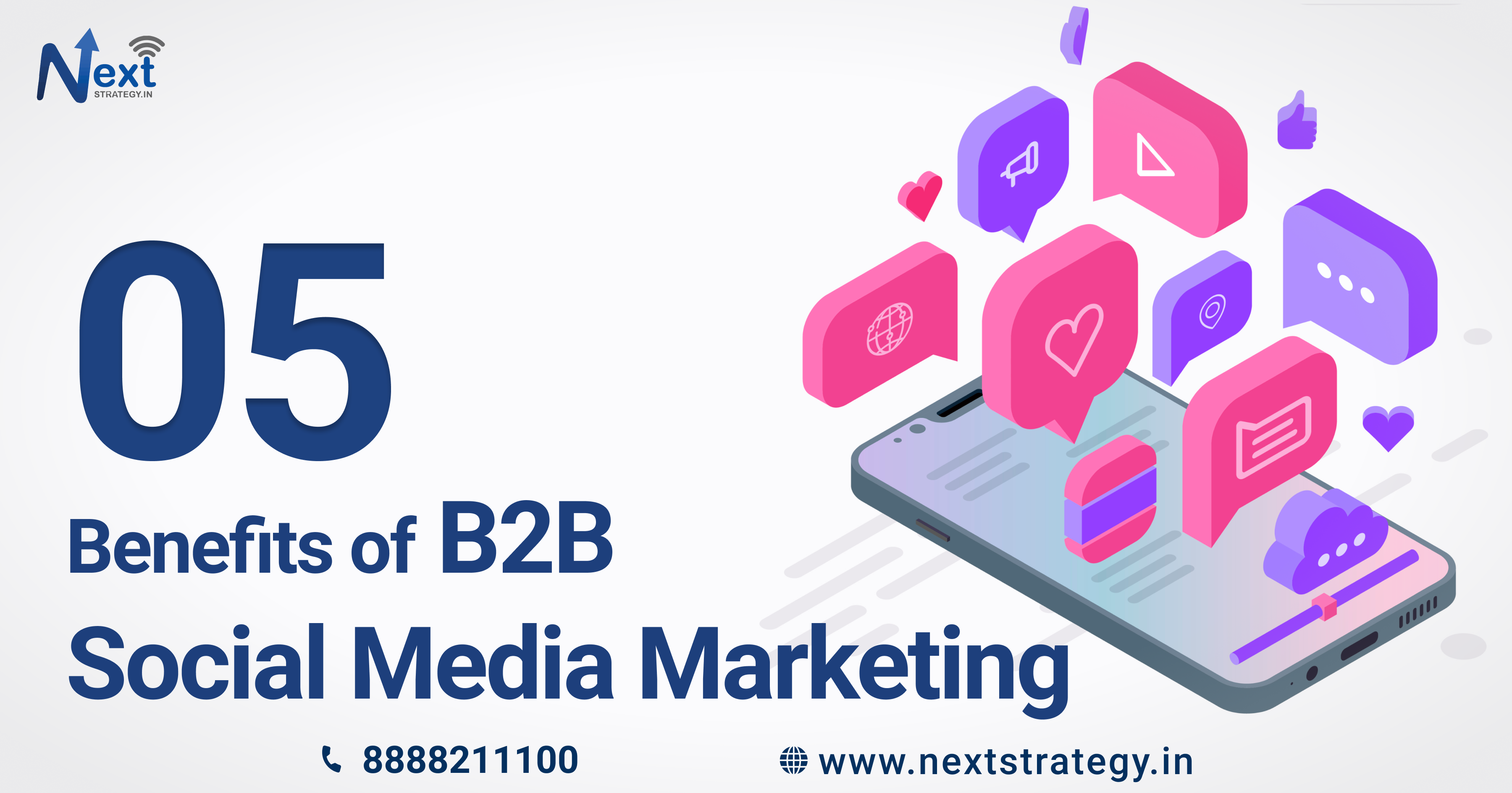 5 Benefits of B2B Social Media Marketing Nextstrategy.in