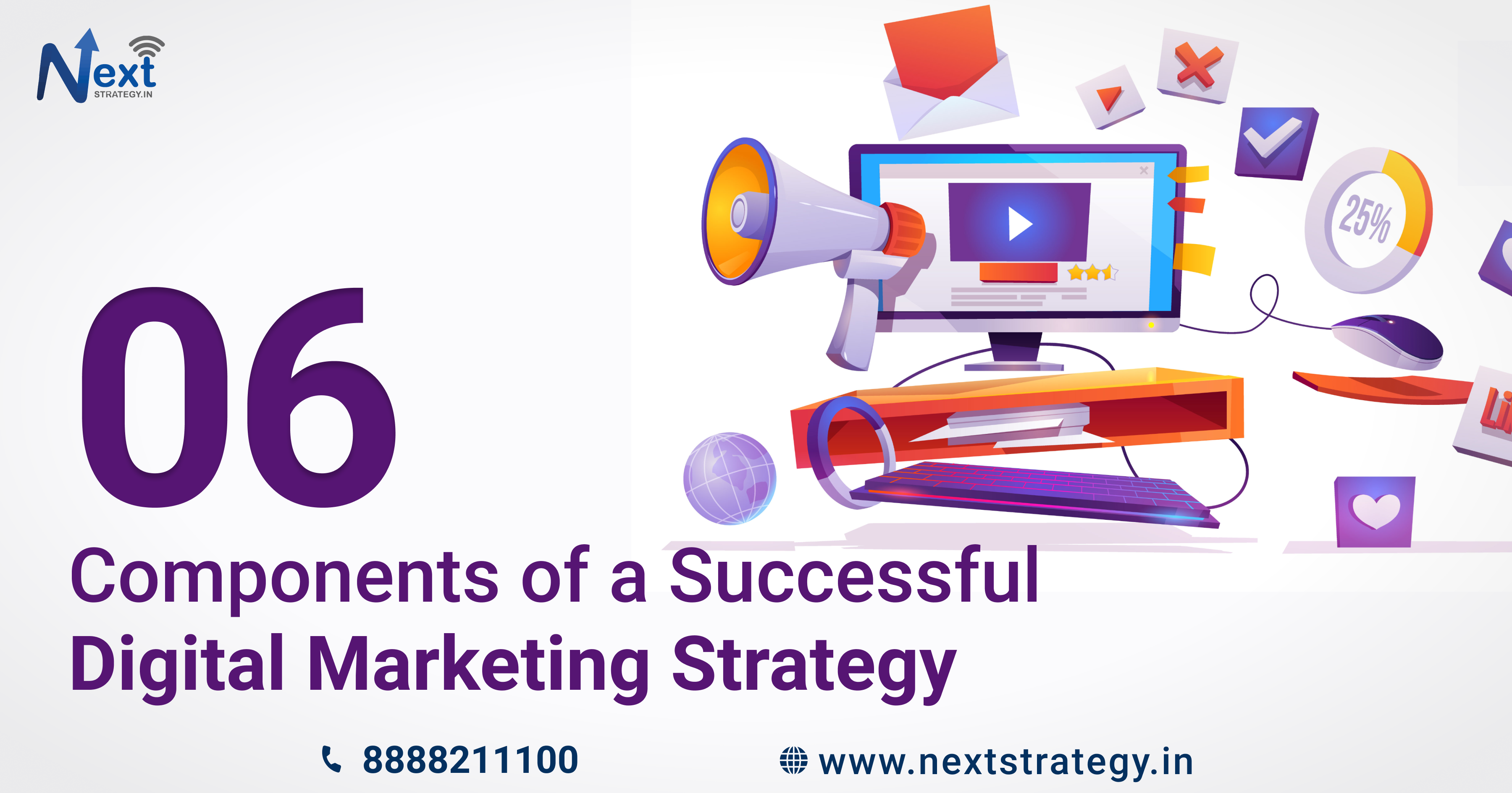 7 Components of a Successful Digital Marketing Strategy - Nextstrategy.in