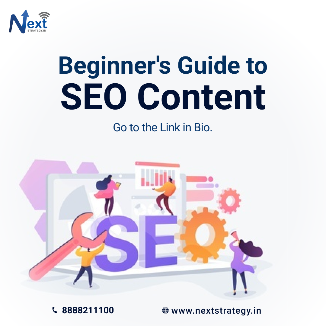 Beginner's Guide to SEO Content- Nextstrategy.in